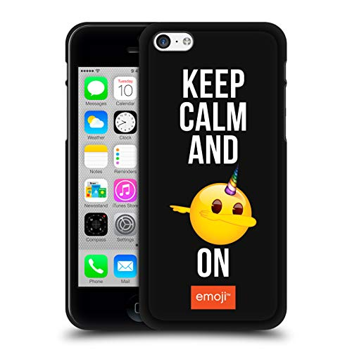 Head Case Designs Oficial Emoji Dab On Sé un Unicornio Funda de Gel Negro Compatible con Apple iPhone 5 / iPhone 5s / iPhone SE 2016