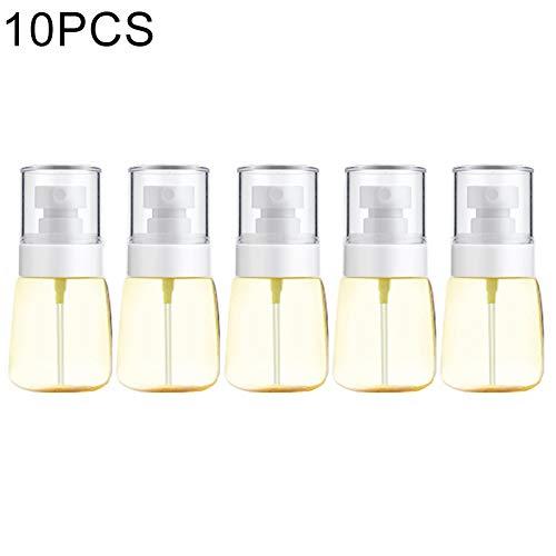 Vaporisateur Portable 10 PCS Portable en Plastique Rechargeable Fine Mist Parfum Vaporisateur Transparent pulvérisation Vide Bouteille Pulvérisateur, 30ml (Rose) Flacon pulvérisateur