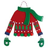 Ugly Sweater Ornament   Christmas Decoration   1 Pc