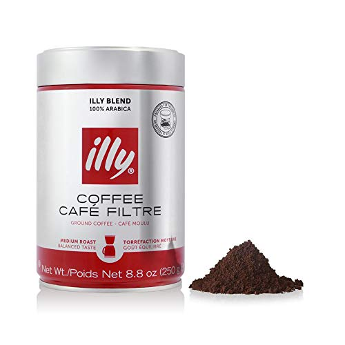 illy - Ground Drip Coffee - Medium Roast - 8.8 oz (250g)