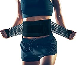 AllyFlex Women's Back Brace for Female Lower Back Pain - Petite Orthopedic Back Brace for Women Under Clothes Lower Lumbar Support to Improve Posture (XS/S)
