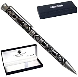 Pen Deluxe Gift Boxed Men - Medieval Celtic Spear