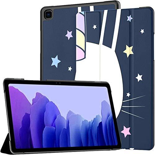 Unicorn Bunny Illustration Vector Galaxy Tab A7 10.4 Funda Galaxy Tab A7 10.4 Pulgadas Galaxy Tab A Fundas Samsung Galaxy Tab A7 10.4 Funda con Auto Wake/Sleep Fit Funda para Tableta Samsung para G