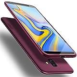 X-level - Funda para Samsung Galaxy J6 Plus 2018, [serie Guardian] silicona flexible de alta calidad, tacto real, funda compatible con Galaxy J6 Plus 2018, color rojo