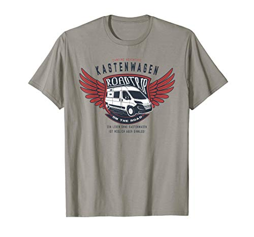 Kastenwagen Shirt Camping Adventure Roadtrip