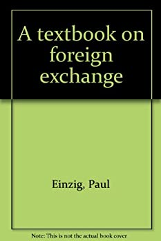 Hardcover A textbook on foreign exchange Book