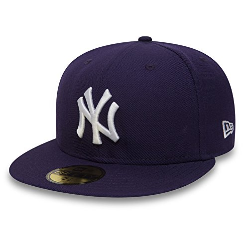 New Era 59Fifty Cap mit UD Bandana New York Yankees Purple/White #2843-7 3/4 -