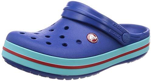 crocs Unisex-Erwachsene Crocband U\' Clogs, Blau (Blue Jean/Pool 4io), 46/47 EU