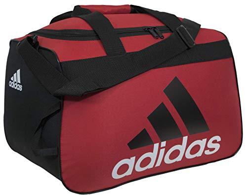 adidas Unisex Diablo Small Duffel Bag, Scarlet/Black/White, ONE SIZE