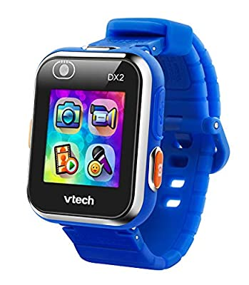 VTech KidiZoom Smartwatch DX2 (Frustration Free Packaging), Blue, Great Gift For Kids, Toddlers, Toy for Boys and Girls, Ages 4, 5, 6, 7, 8, 9, reg