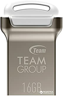 TEAMGROUP C161 Water Proof USB 2.0 Flash Drive 16gb - Silver/White