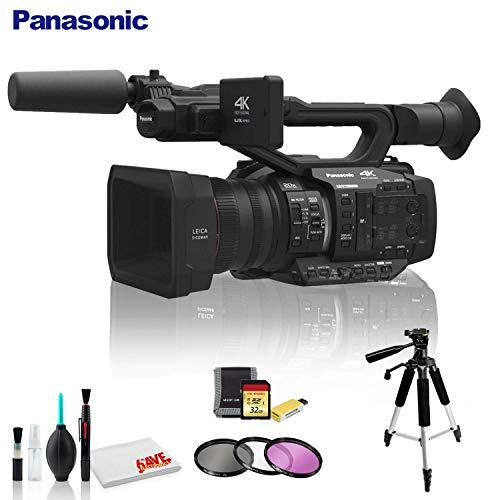 Lowest Price! Panasonic AG-UX180 4K Premium Professional Camcorder - Deluxe Kit