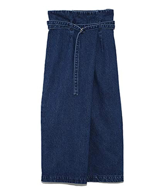 [ミラ オーウェン] スカート フロント折り返しペンシルデニムスカート 09WFS191004