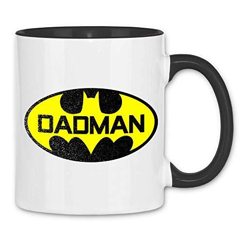 wowshirt Tasse Geschenk-Idee für Vater Geburtstag Vatertag Papa Dad Weihnachten, Farbe:1 White Black