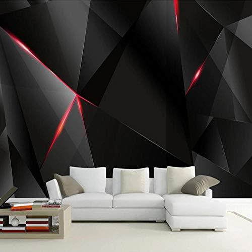 ZGHNZK Benutzerdefinierte Tapete 3D Science Fiction Schwarzlicht Wandbild Wohnzimmer KTV Bar Restaurant-200X140CM