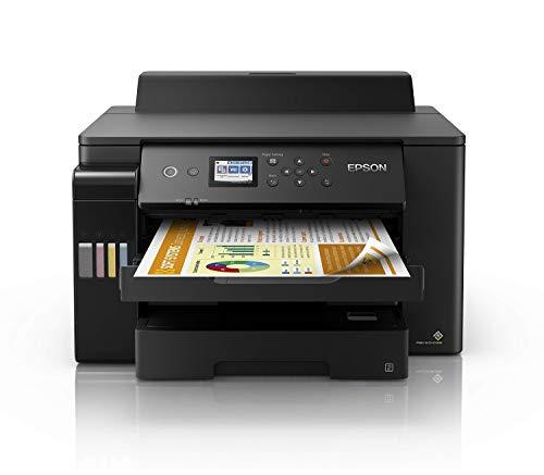 Epson EcoTank ET-16150 Tintenstrahldrucker (Singlefunction, drucken bis DIN A3, ADF, Duplex, WiFi, Ethernet, Display, USB 2.0), großer Tintentank, hohe Reichweite, niedrige Seitenkosten