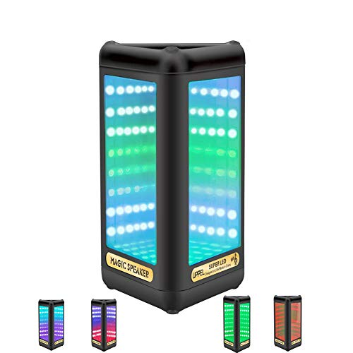Uppel LED Bluetooth-Lautsprecher Wireless Lautsprecher mit S
