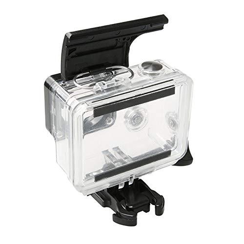 GANKIN JTJ ADC for GoPro HERO4 / Caméra 3+ Action Sports boîtier étanche Boîtier en Plastique ABS Porte arrière Clip Catch Verrouillage (Noir)