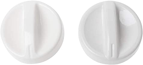 JIACUO 2Pcs Universal Microondas Horno Plástico Carrete Perilla giratoria Interruptor de Control del Temporizador Nuevo