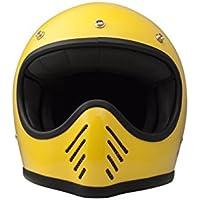 DMD–Casco de fibra de carbono y kevlar 'seventyfive Yellow', Tamaño: M