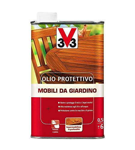 Olio protettivo Mobili da Giardino V33 naturale 500ml