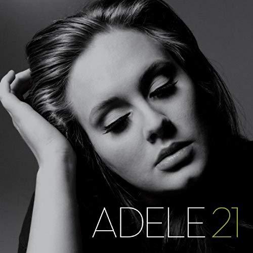 Adele 21 álbum de música popular póster lienzo pintura arte póster impresión hogar pared sala de estar decoración -50x75 pulgadas sin marco