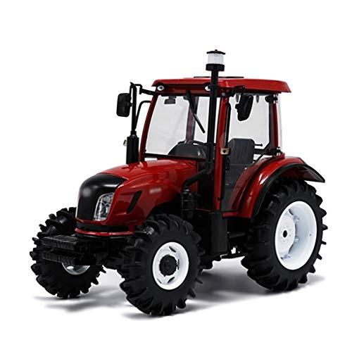Coches Uno Y Veinticuatro Die Casting Modelo/Compatible con Dongfeng Maquinaria Agrícola DF904 / Rueda del Tractor Modelo Agrícola Maquinaria De Ingeniería De Transporte De Aleación Modelo