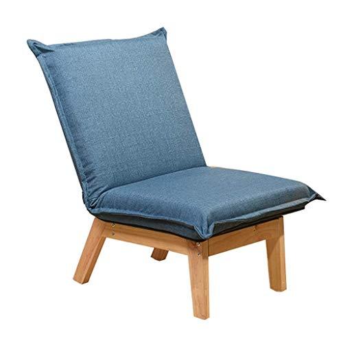 WYJW blauwe kleine bank Lazy bank stoel ligstoel luie campingstoel ontspannen stoel ligstoel ligstoel ligstoel ligstoel ligstoel ligstoel ligstoel ligstoel ligstoel ligstoel stoel stoel ligstoel zon ligstoel (kleur : blauw)