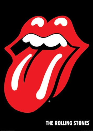 Empire 209733 Rolling Stones Tongue, Musik Poster ca. 91,5 x 61 cm