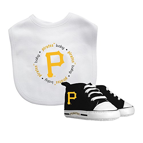 Baby Fanatic Bib & Prewalker Gift Set- Pittsburgh Pirates