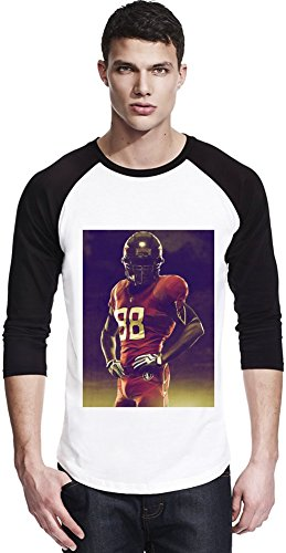 American Football Star Unisex Baseball Shirt Large