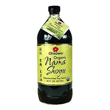 Ohsawa Organic Nama Shoyu - 32 oz - Case of 3