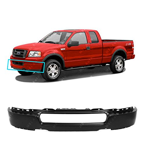 MBI AUTO - Primered, Steel Front Bumper Face Bar for 2004 2005 Ford F150 04 05,...