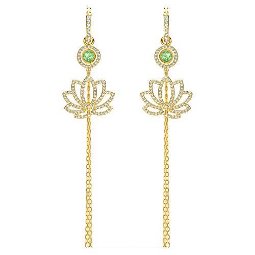 Boucles d'oreilles Swarovski Symbolic Lotus