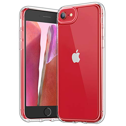 [2020 Upgraded] YOUMAKER Compatible with iPhone SE 2020 Case, iPhone 8 Case iPhone 7 Case Clear for iPhone SE 2nd Generation, iPhone 8 and iPhone 7 4.7 Inch