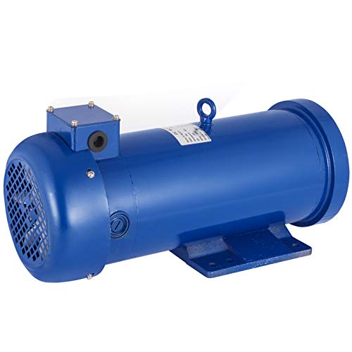 VEVOR 3.0HP 180V DC Motor 2200W 145TC Frame Rated Speed 1750RPM TEFC Permanent Magnet DC Motor with Carbon Brushes