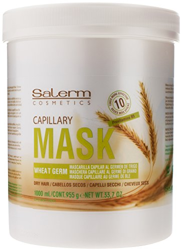 Salerm Mascarilla Capilar Wheat Germ Conditioning Treatment Mask, 33.7 oz / liter by Salerm