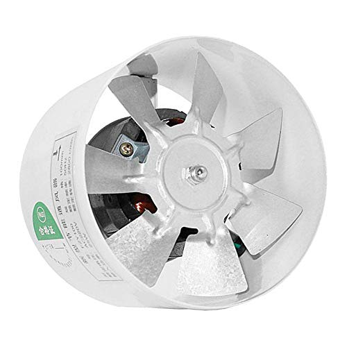KESOTO 220V Rohrventilator Kanalventilator Abluftventilator, Φ 95 mm, 25 W, 260 m³ / h