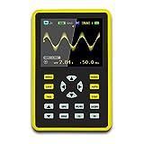 Oscilloscopio, mini oscilloscopio digitale portatile con schermo LCD professionale, 64 MB di spazio di archiviazione, larghezza di banda 100 MHz, frequenza di campionamento di 500 MS/s