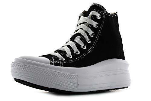 Converse Chuck Taylor All Star Seasonal, Zapatillas de Paseo. Mujer, Color Blanco Monocromo, 39.5 EU