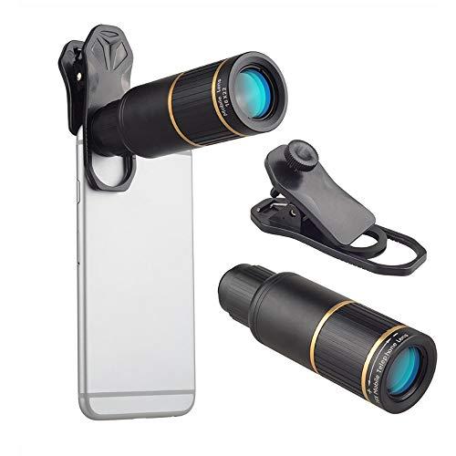 Handy-Kamera-Objektiv-Set, universelles 16-faches Zoom, Teleobjektiv für Android, iOS-Handy, ein Muss für Konzert-Fans.