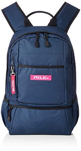 [ミルクフェド] BACK PACK BAR Jr 3192050 NAVY One Size