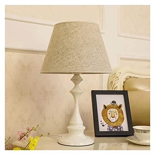 Lámpara de mesita de noche Lámparas de escritorio dormitorio en la cama de la cama de la mesa de la mesa de la mesa de la mesa del interruptor de encendido del interruptor de encendido de la lámpara d