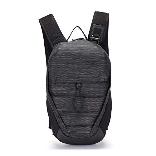 Pacsafe Venturesafe X12 Backpack, Anti-Diebstahl Rucksack, Diebstahlschutz Wanderrucksack 12 Liter, Anthrazit/Charcoal Diamond