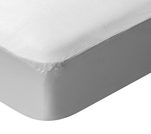 Pikolin Home - Protector de colchón termorregulador, impermeable y transpirable, 105x190/200cm-Cama 105 (Todas las medidas)