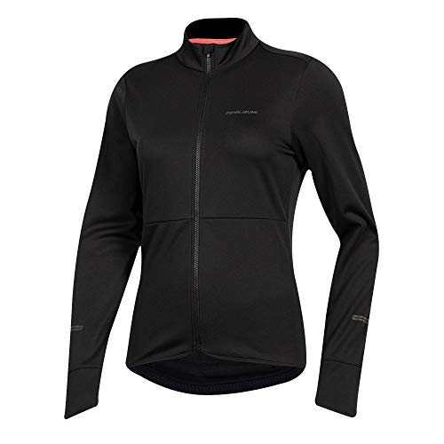 PEARL IZUMI Women's Quest Thermal Cycling Jersey, Black, X-Large