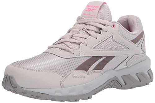 Reebok Women's Ridgerider 5.0 Walking Shoe, Sand Stone/Trek Grey/Pure Grey, 5.5 M US