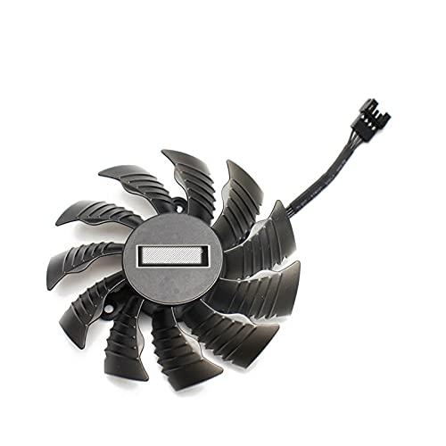 87mm PLA09215S12H 0.55A Reemplazo del Ventilador del refrigerador RTX 2080 2080 TI para GIGABYTE RTX2080 RTX2080TI Fans de la Tarjeta gráfica (Blade Color : White)