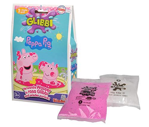 Simba 105953348 Glibbi Peppa Pig, Mehrfarbig, One Size