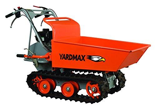 YARDMAX YD8103 Track Barrow, 660 lb. Capacity, Briggs CR950, 6.5 hp, 208cc